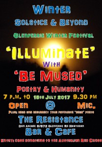 Poster 'Illuminate' 15th July