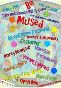 GlenFest 'Be Mused' Feb4th2018